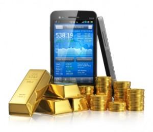 On peut acheter de l'or physique sur Internet avec un smartphone