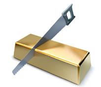 L'or physique mutualisé est impossible à partager